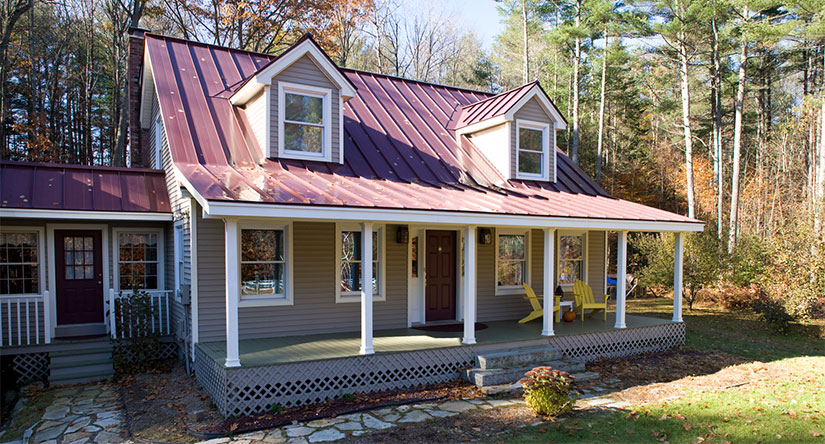 Standing Seam Metal Roofing in NJ