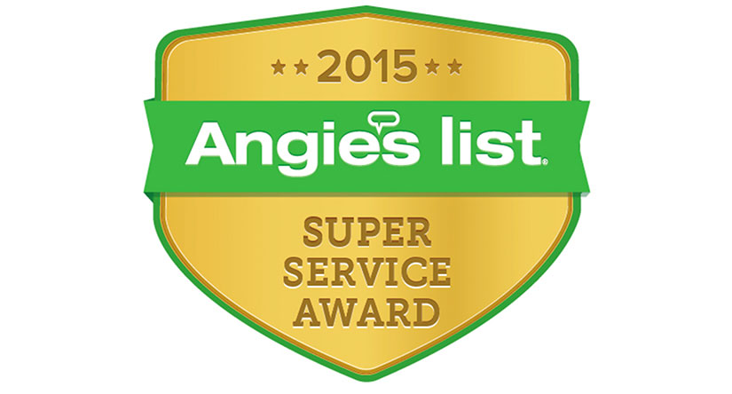 Angie's List Service Award - Roofing & Siding in NJ