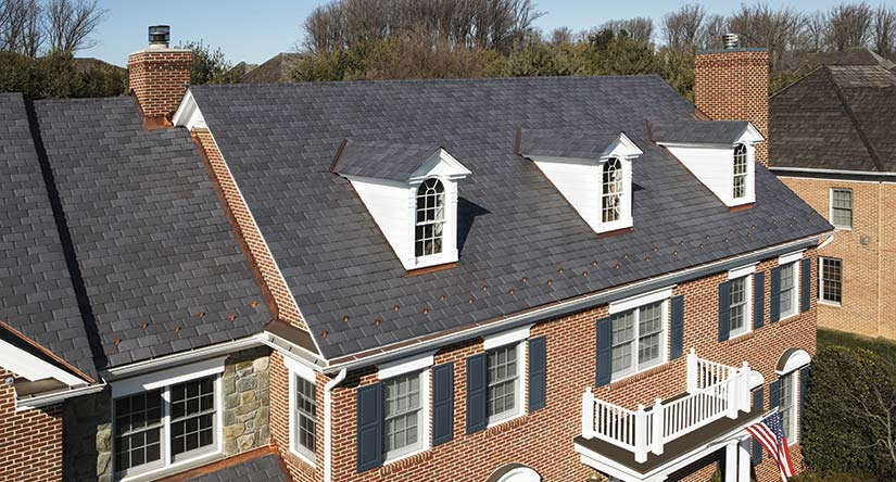 Simulated Slate Roof Repair & Replacement in NJ