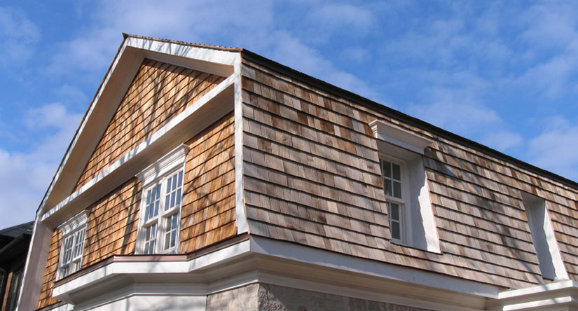 Cedar Shake Siding Replacement in NJ