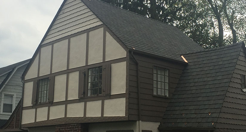 Simulated Slate Roof Replacement In Summit Nj Powell S